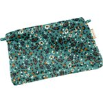 Tiny coton clutch bag jade panther - PPMC