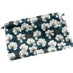 Mini pochette tissu paradis bleu - PPMC