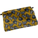 Tiny coton clutch bag hen facet - PPMC