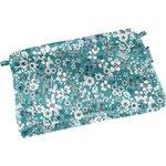 Tiny coton clutch bag celadon violette - PPMC