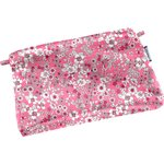 Tiny coton clutch bag pink violette - PPMC