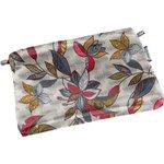 Tiny coton clutch bag wax fleuri - PPMC