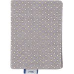Card holder grey gold star - PPMC
