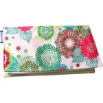 Chequebook cover powdered  dahlia - PPMC
