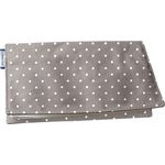 Chequebook cover light grey spots - PPMC
