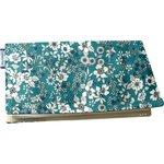 Chequebook cover celadon violette - PPMC