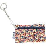 Keyring  wallet carnations jeans - PPMC