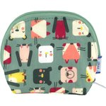 gusset coin purse animals cube - PPMC