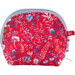 gusset coin purse cherry cornflower - PPMC