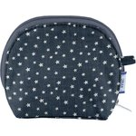 gusset coin purse silver star jeans - PPMC