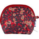 gusset coin purse vermilion foliage - PPMC