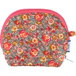 gusset coin purse peach flower - PPMC