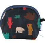 gusset coin purse grizzly - PPMC