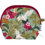 gusset coin purse ibis - PPMC
