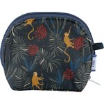 gusset coin purse jungle party - PPMC
