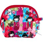 gusset coin purse kokeshis - PPMC