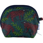 gusset coin purse wolf of the woods - PPMC