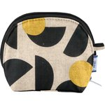gusset coin purse golden moon - PPMC