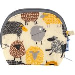 gusset coin purse yellow sheep - PPMC