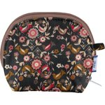 gusset coin purse ochre bird - PPMC