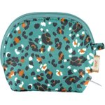 gusset coin purse jade panther - PPMC