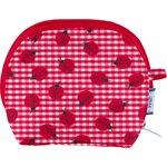 gusset coin purse ladybird gingham - PPMC