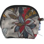 gusset coin purse wax fleuri - PPMC
