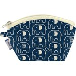 Coin Purse blue elephant - PPMC
