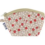 Coin Purse red flower - PPMC