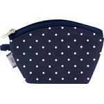 Coin Purse navy blue spots - PPMC