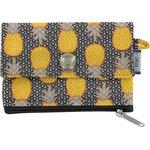 zipper pouch card purse pineapple - PPMC