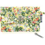 zipper pouch card purse menthol berry - PPMC