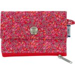 zipper pouch card purse currant crocus - PPMC