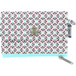 zipper pouch card purse neon shards - PPMC