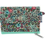zipper pouch card purse flower mentholated - PPMC