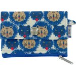 zipper pouch card purse roar - PPMC