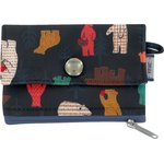 zipper pouch card purse grizzly - PPMC