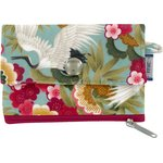zipper pouch card purse ibis - PPMC