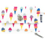 zipper pouch card purse ice cream - PPMC