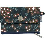 zipper pouch card purse fireflies - PPMC