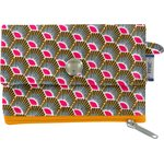 zipper pouch card purse palmette - PPMC