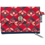 zipper pouch card purse paprika petal - PPMC