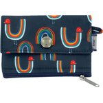 zipper pouch card purse poules en ciel - PPMC