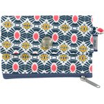 zipper pouch card purse ethnic sun - PPMC
