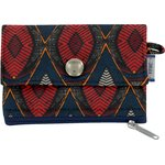 zipper pouch card purse wax - PPMC