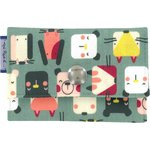 Multi card holder animals cube - PPMC