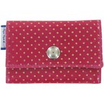 Multi card holder etoile or fuchsia - PPMC