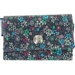 Multi card holder green azure flower - PPMC