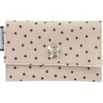 Multi card holder pink coppers spots - PPMC