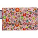 Multi card holder pink meadow - PPMC